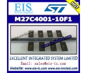 China M27C4001-10F1 - STMicroelectronics - 4 Mbit (512Kb x 8) UV EPROM and OTP EPROM factory