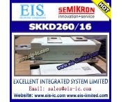 China SKKD260/16 - SEMIKRON - Rectifier Diode Modules factory